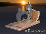 507 Zwart en Romantica Graniet